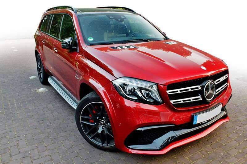 Bodykit upgrade Mercedes GLS 400 lên GLS 63