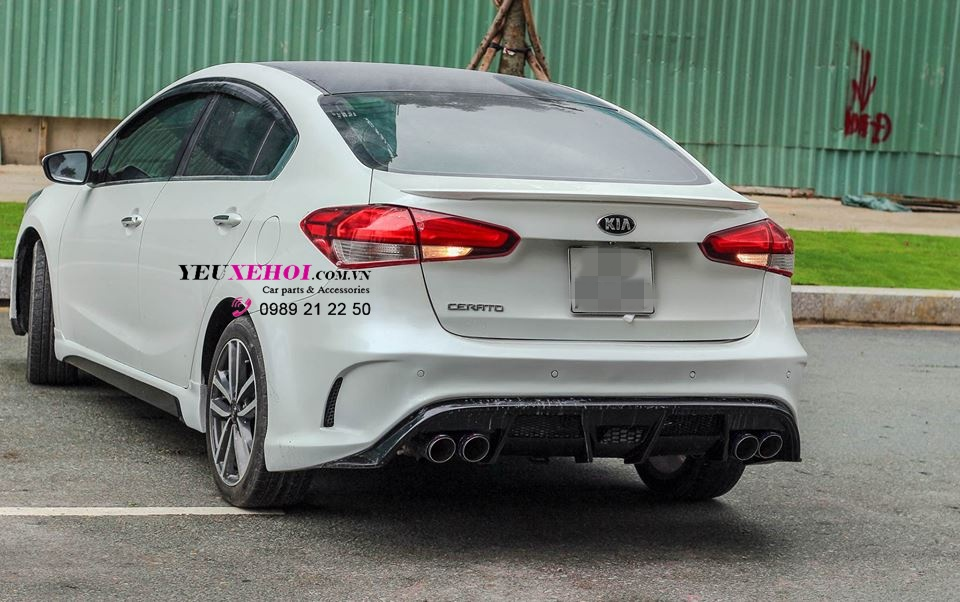 KIA CERATO | RES EXHAUST