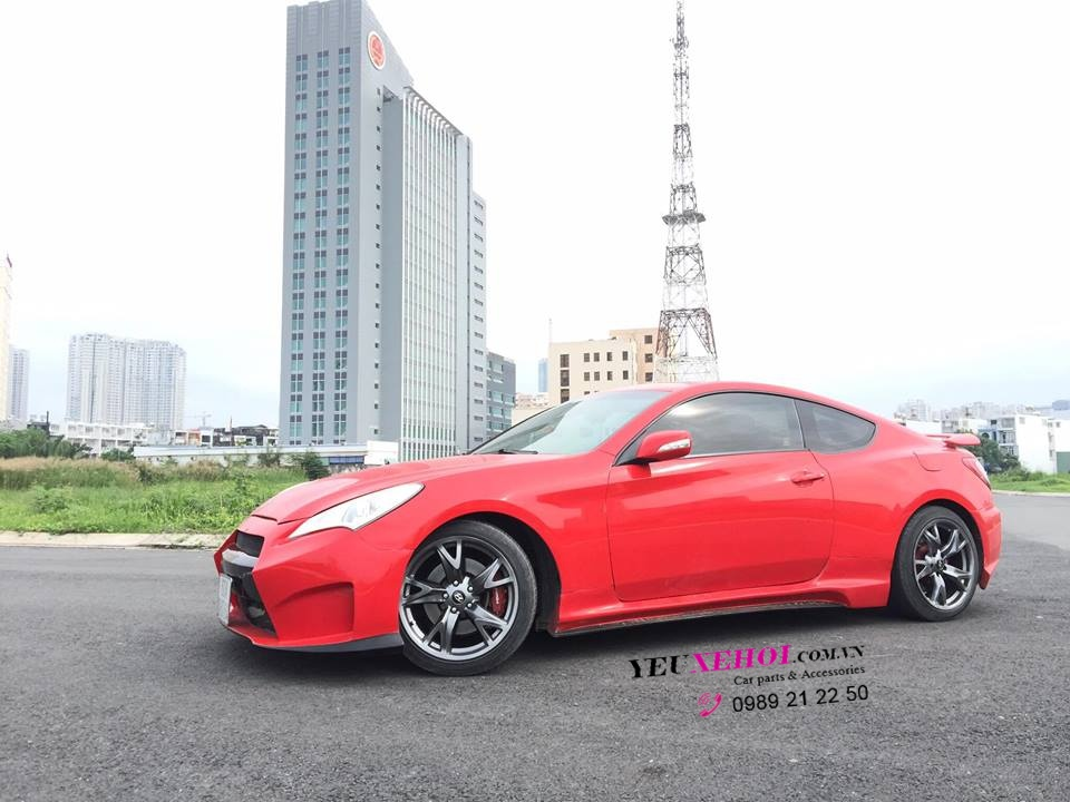 GENESIS COUPE /LAMBO DOORS / RED 0989212250