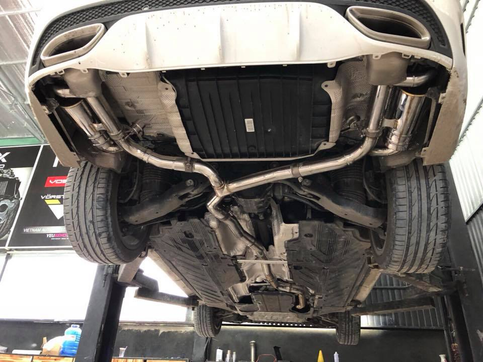 MERCEDES C300 W205 / RES EXHAUST