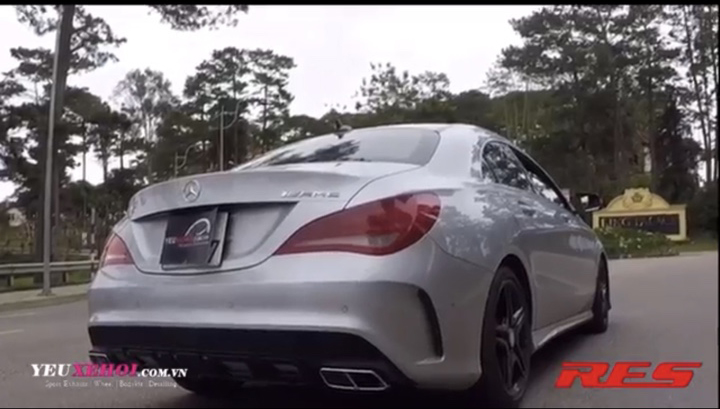 MERCEDES CLA250 / RES EXHAUST
