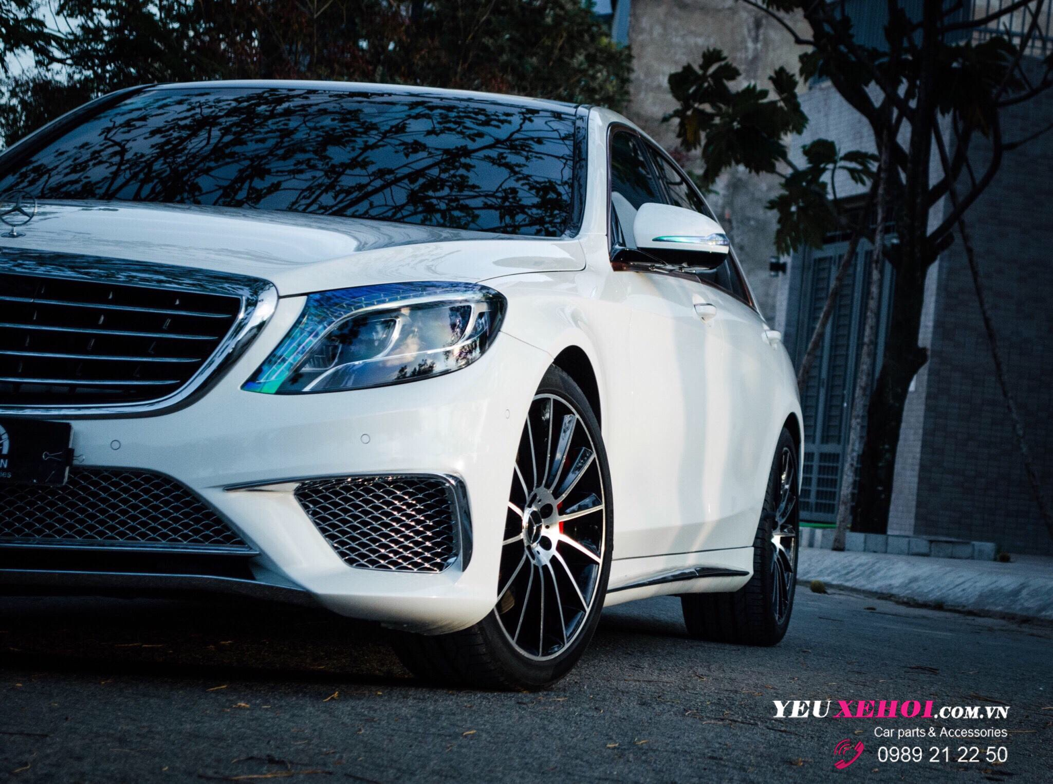MERCEDES S400 UPGRADE BODY S65 AMG / PÔ RES / MÂM 20 INCHES