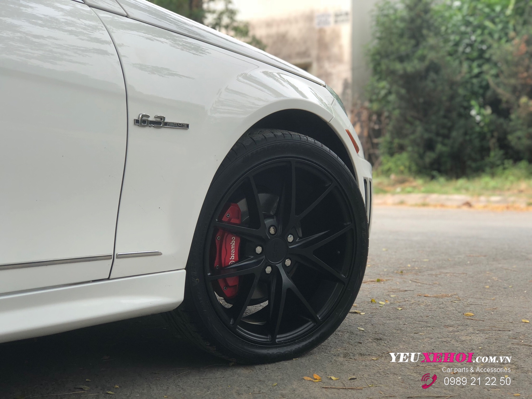 MERCEDES C300 W204 | PHỦ GYEON CERAMIC | USA NICHE WHEEL