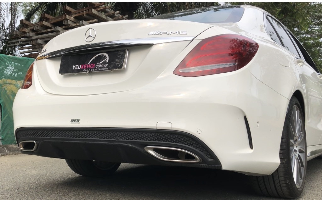 MERCEDES C300 W205 / RES EXHAUST ON OFF AUTO