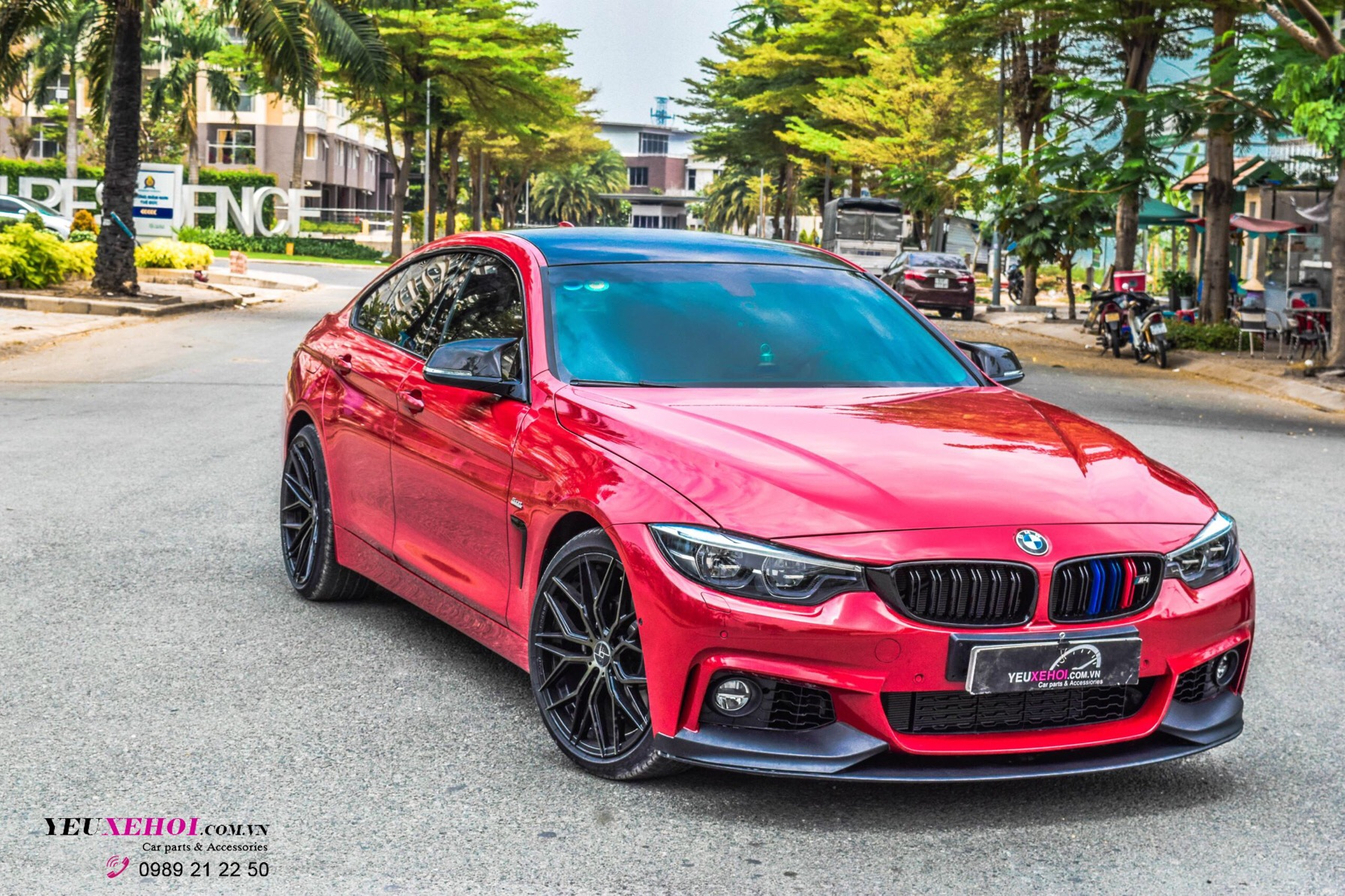 BMW F36 430 GRANCOUPE MPERFORMAN BODYKIT / 19 INCHES 305FORGED