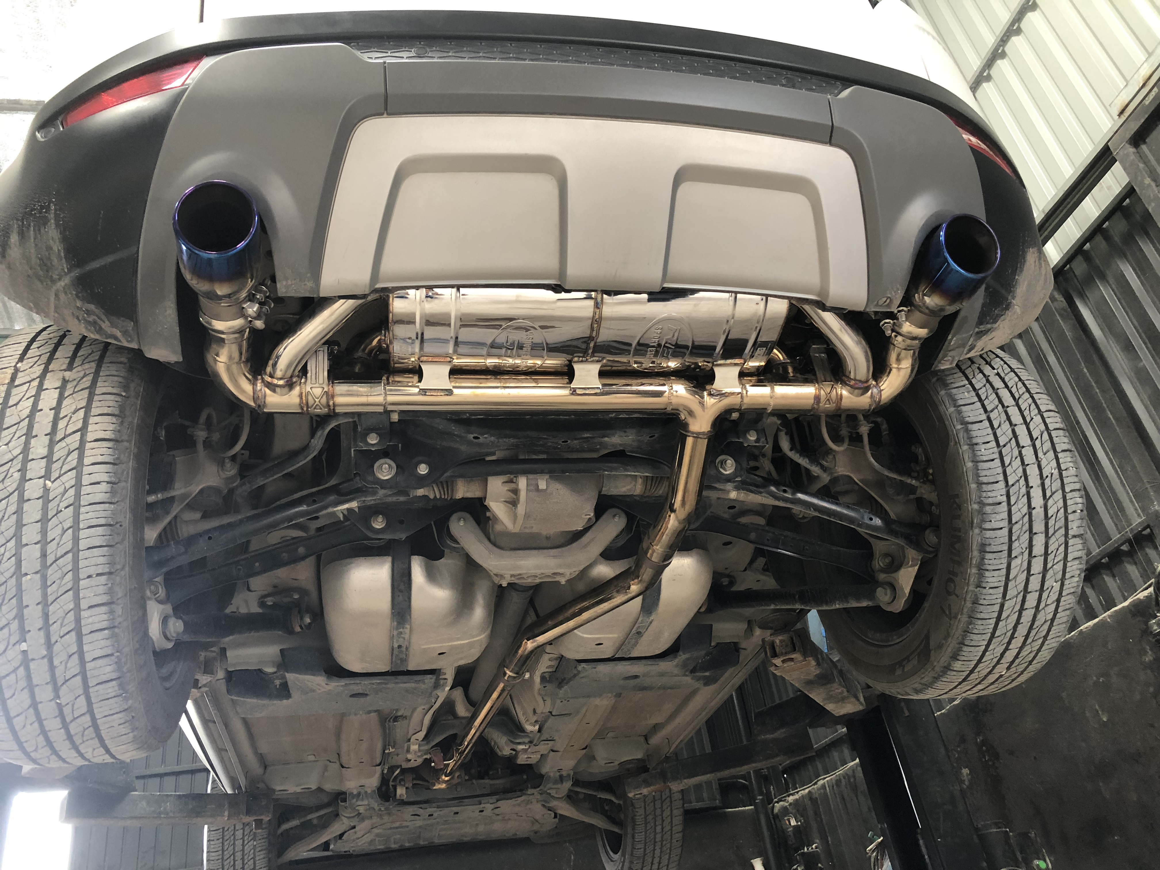 RANGE ROVER EVOQUE / FULL RES EXHAUST