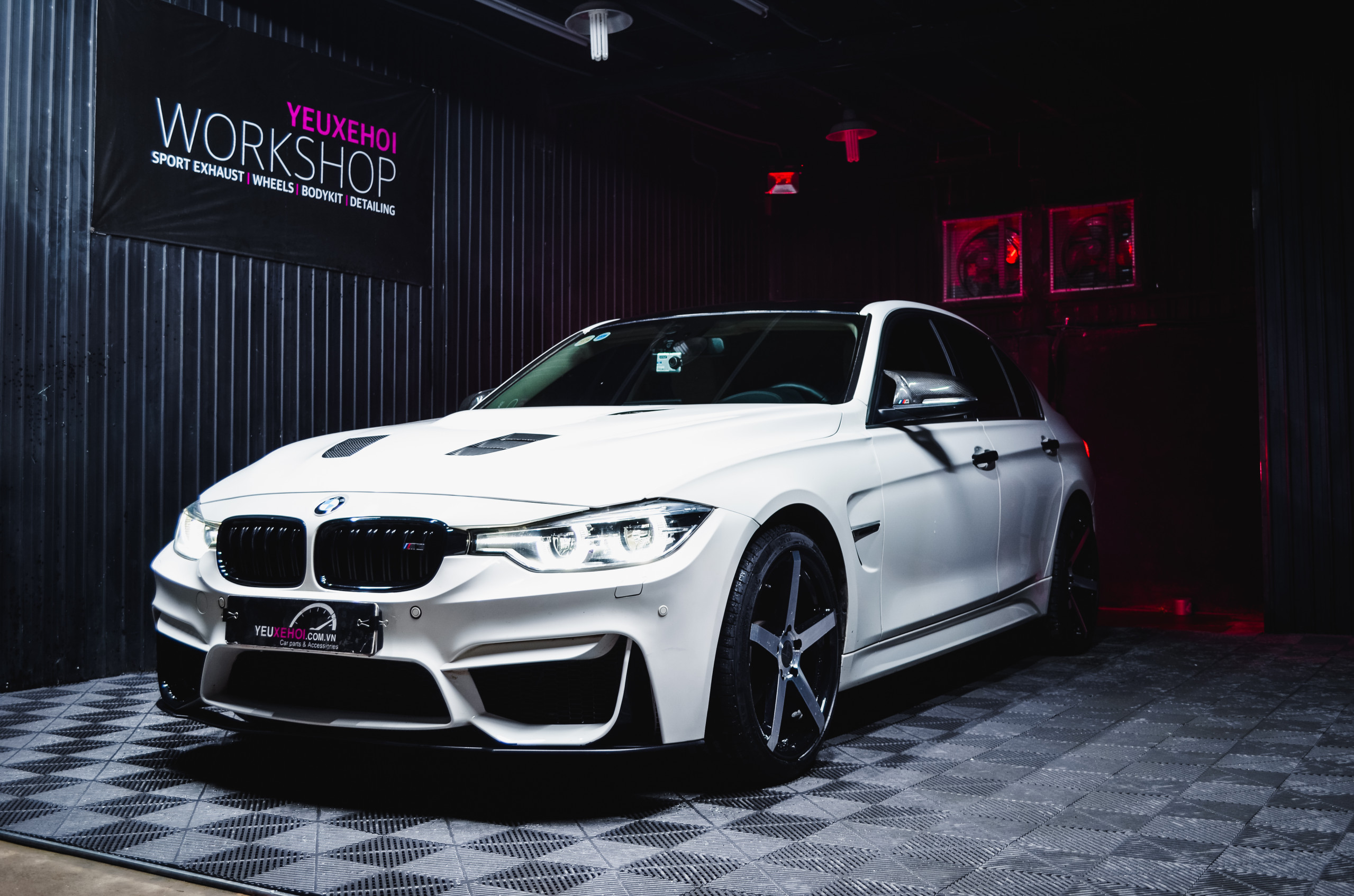 BMW F30 B48 FULL BODYKIT M3 / 305FORGED WHEEL/ RES EXHAUST