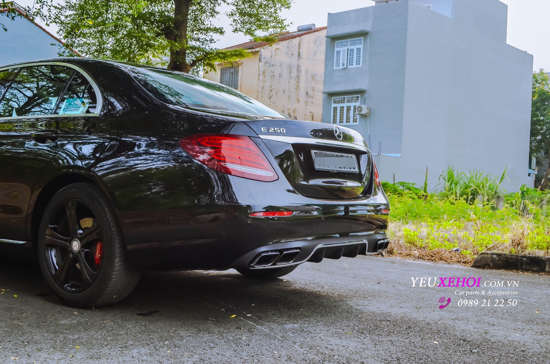 MERCEDES E250 BODYKIT E63S / RES EXHAUST