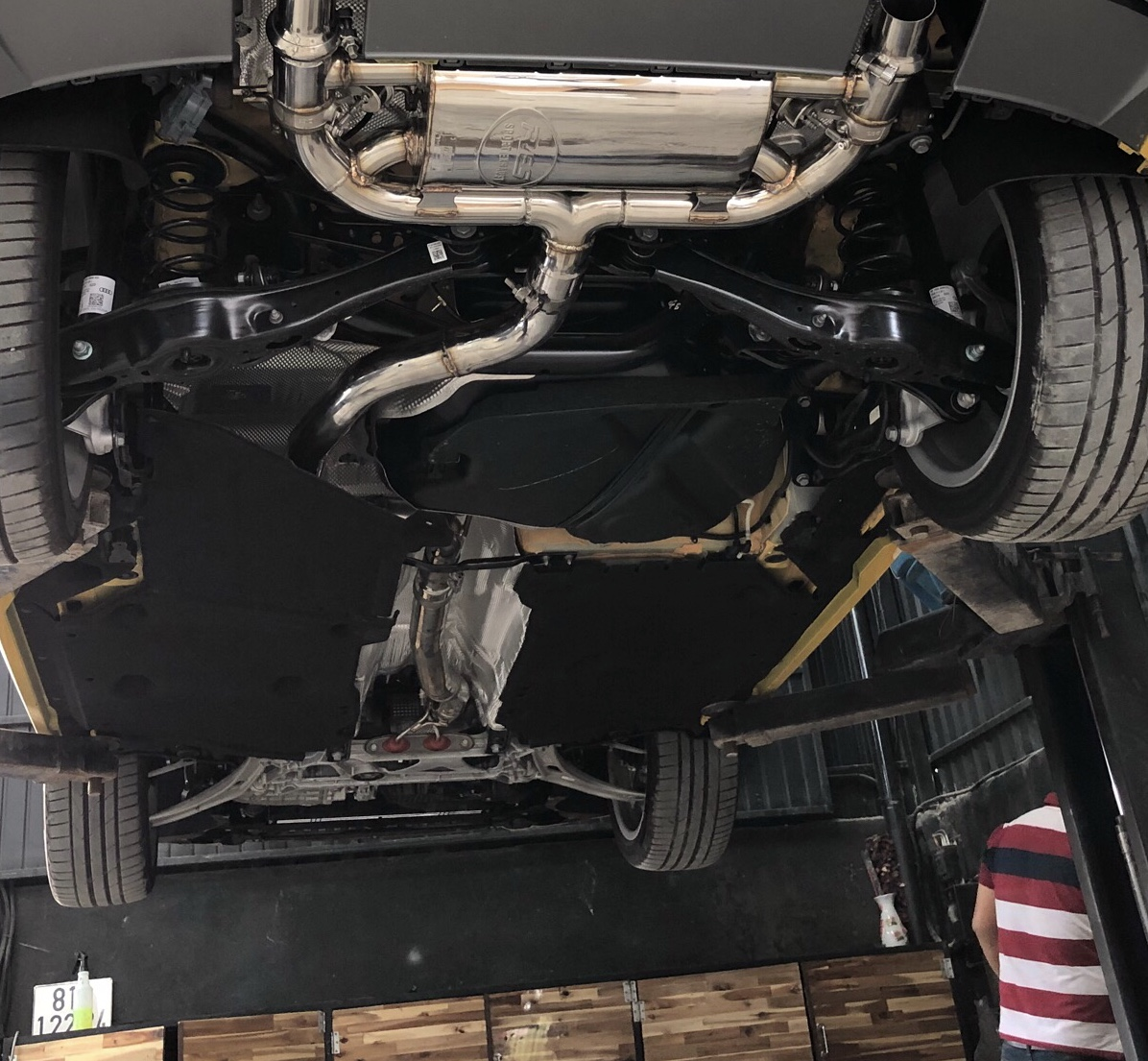 BMW X5 F15 FULL RES EXHAUST