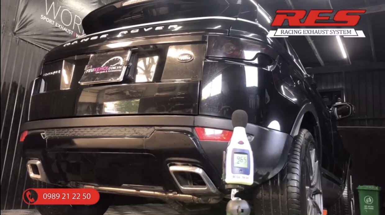PÔ RES / RANGE ROVER EVOQUE / RES EXHAUST