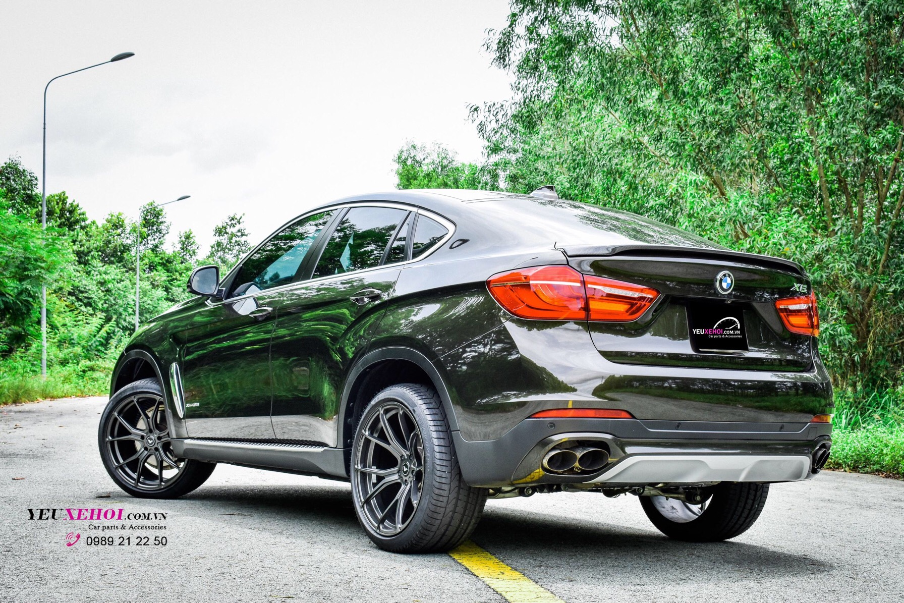 BMW X6 F16 / RES EXHAUST / VORSTEINER 21INCHES 0989 21 22 50