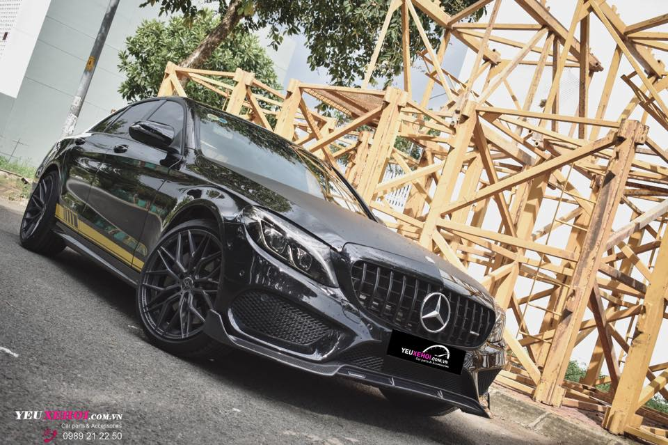 MERCEDES C300 W205 / 305FORGED WHEEL / BRABUS CARBON LIP ADD ON