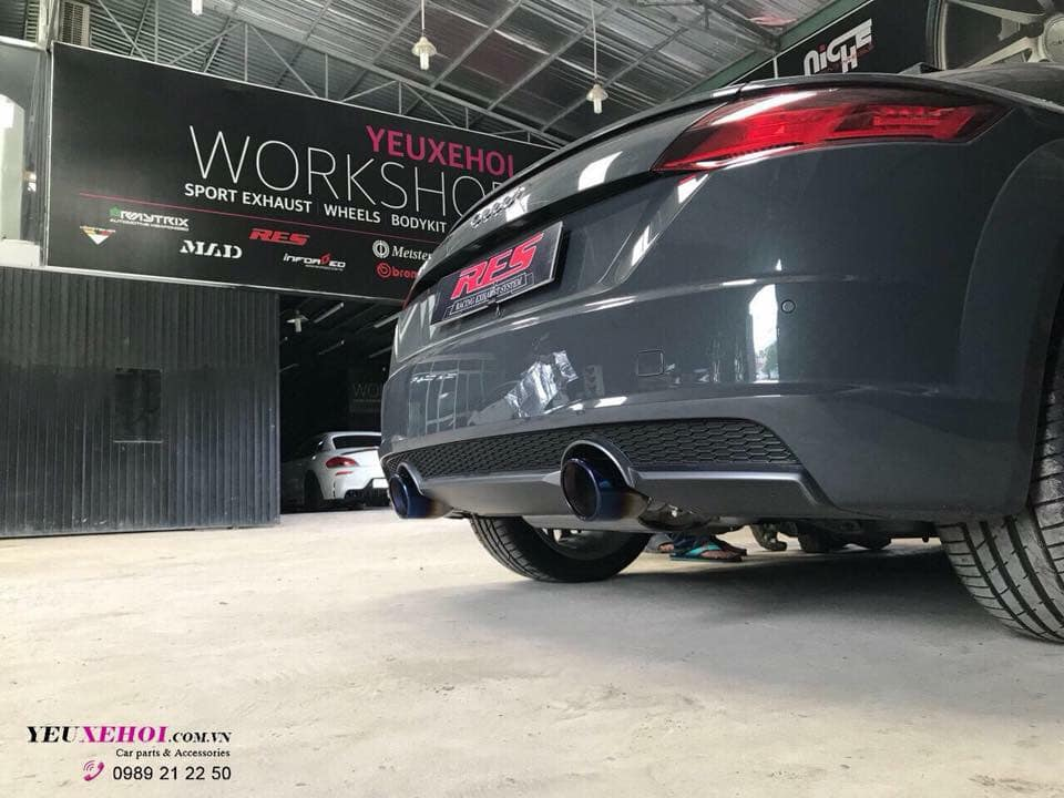 AUDI TT 2.0 | RES EXHAUST