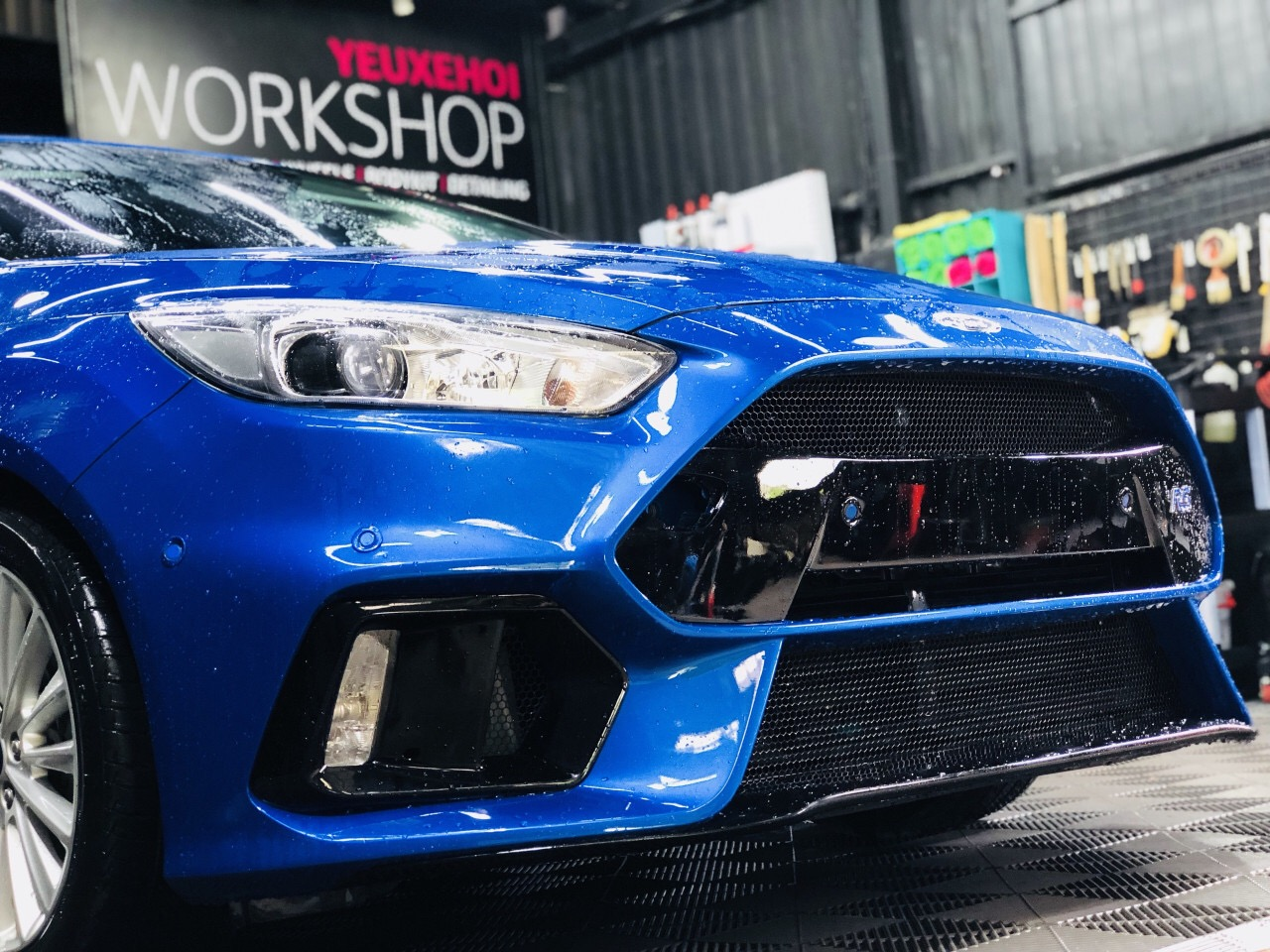 FOCUS RS BODY STYLE BLUE