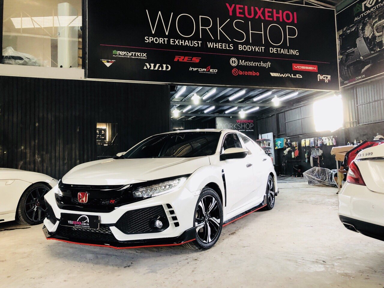 CIVIC TYPE R BODYKIT / RES EXHAUST