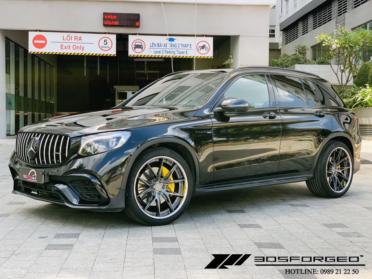 MERCEDES GLC300 / 305FORGED / BODYKIT GLC63