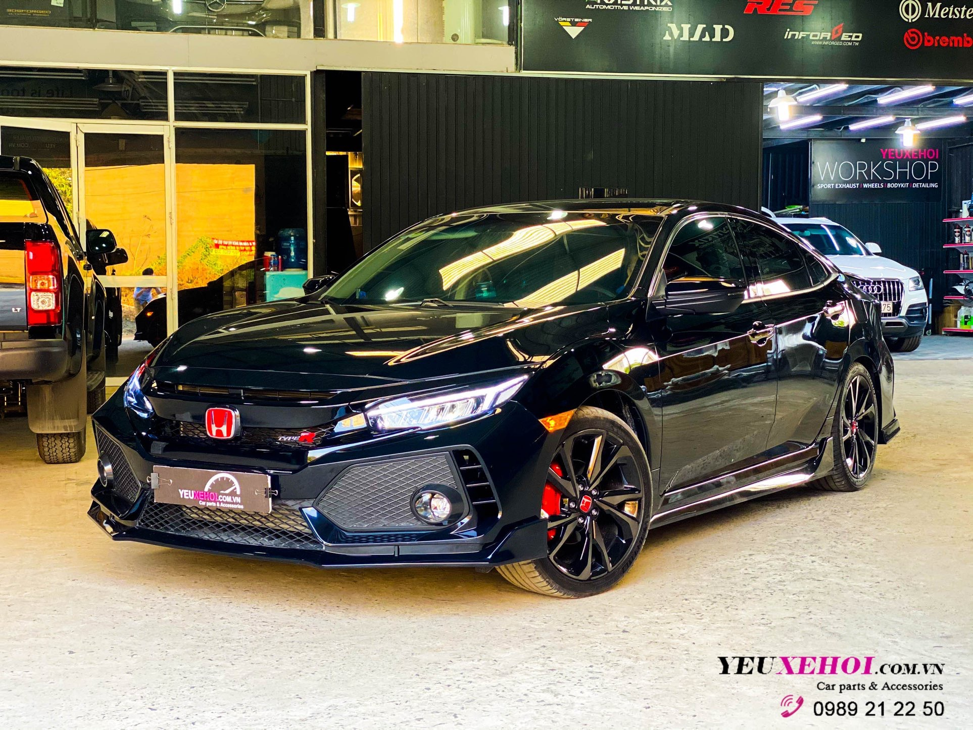BODYKIT TYPE R / HONDA CIVIC