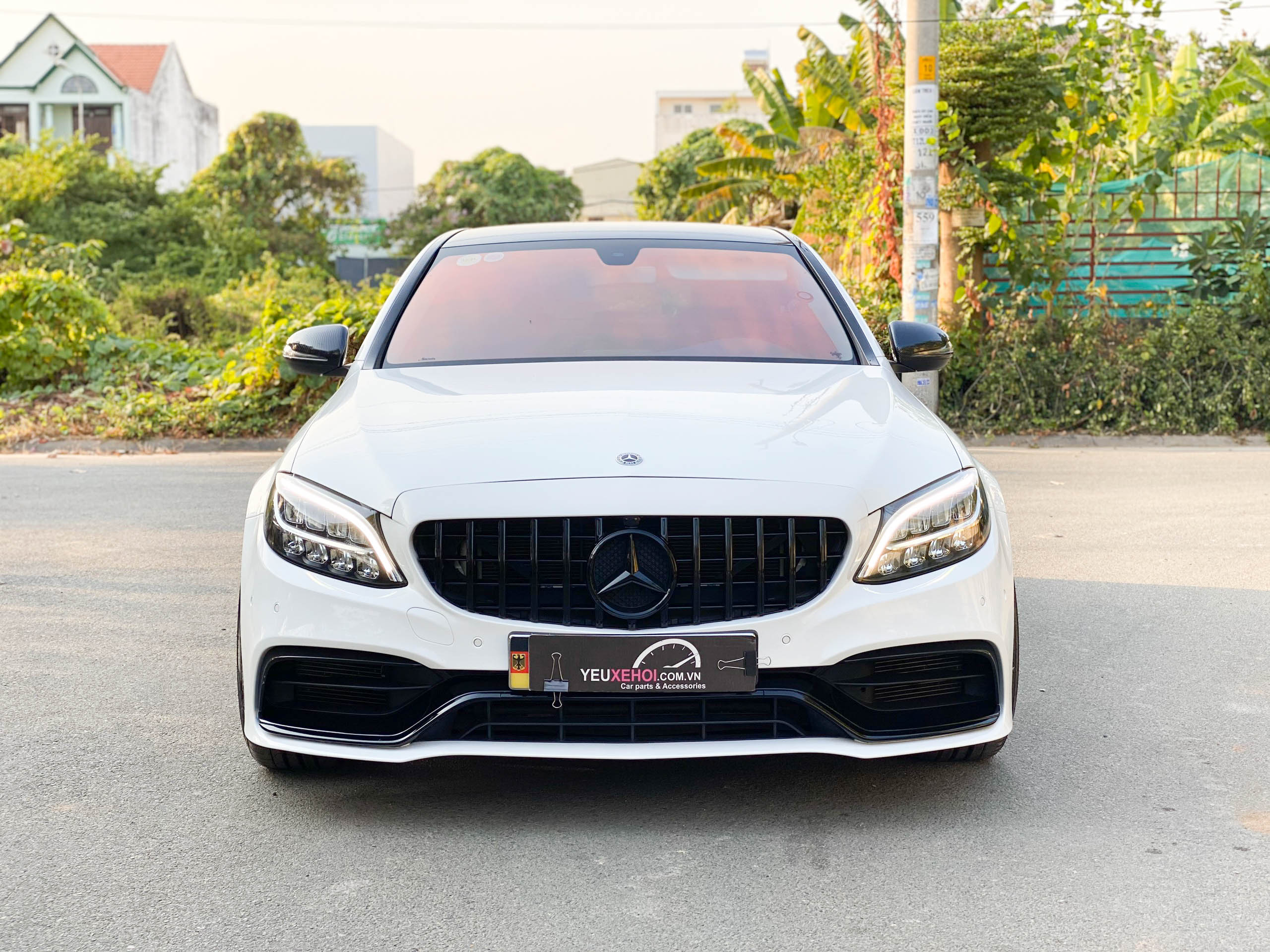 MERCEDES C200 LÊN BODY C63s / 305FORGED FT114