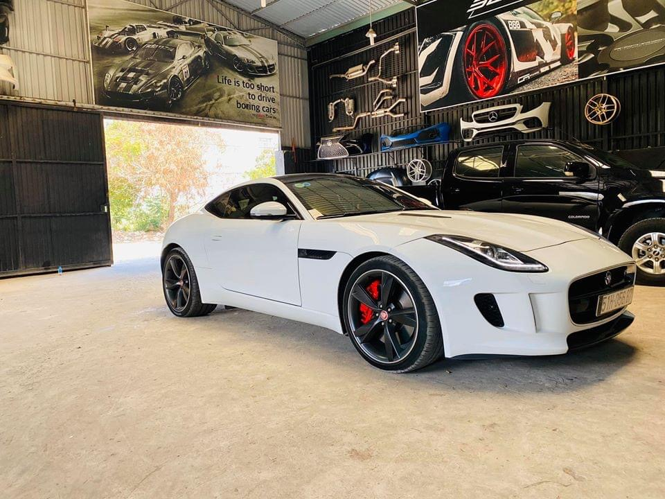 JAGUAR F - TYPE V6 3.0T 340Hp LÊN FULL RES EXHAUST