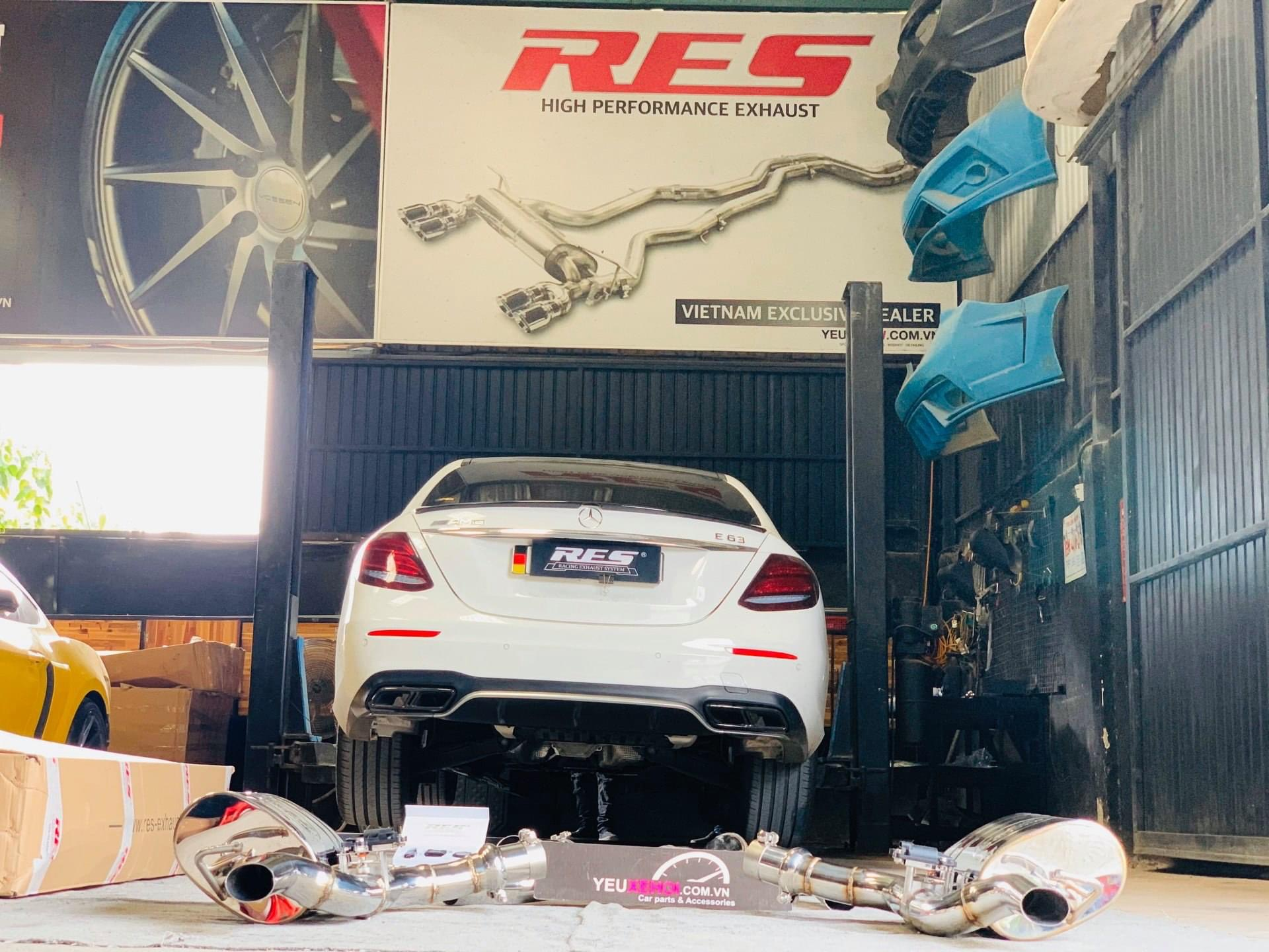 MERCEDES E200 W213 / RES EXHAUST