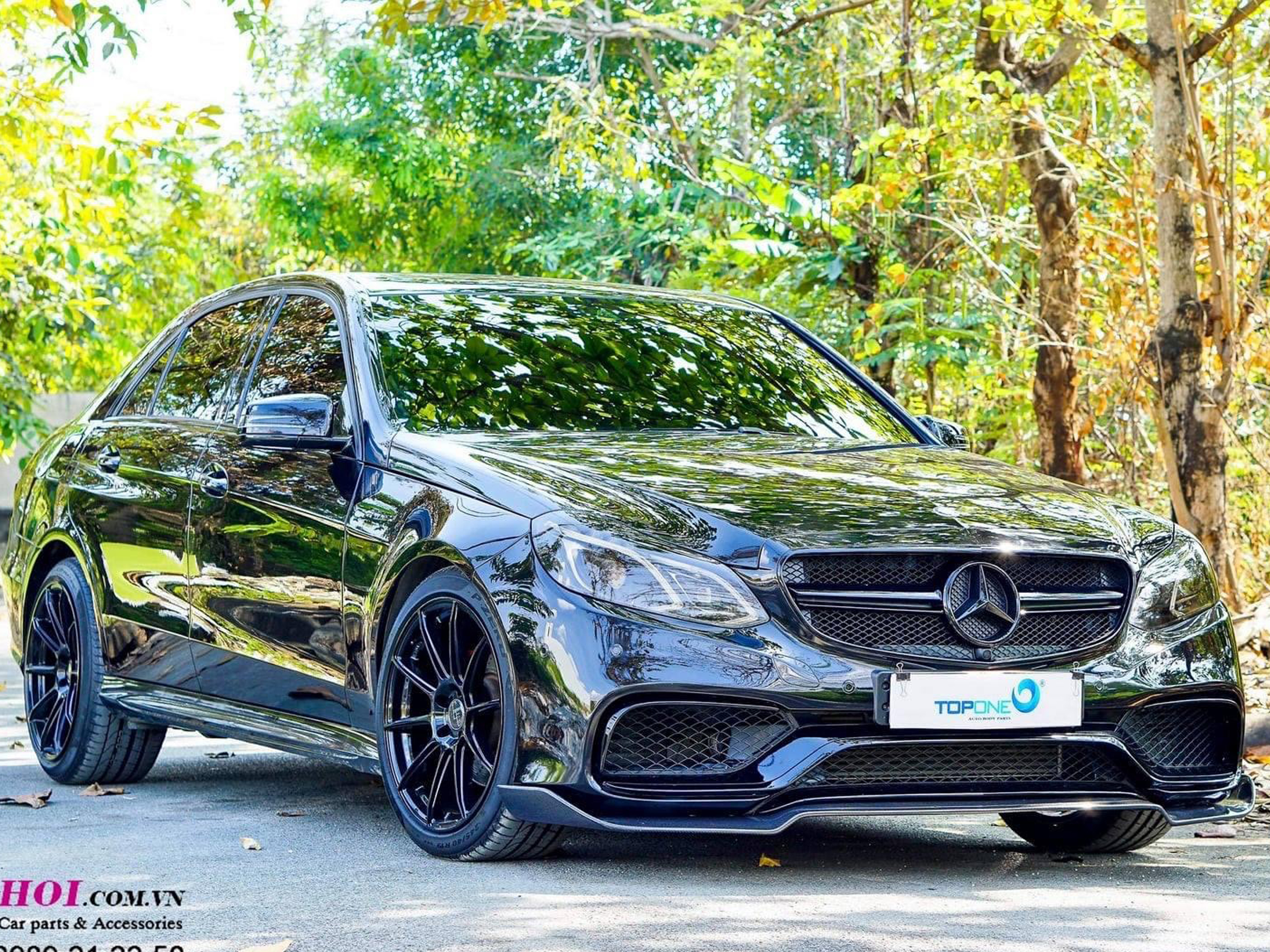 MERCEDES E250 W212 LÊN BODY E63 / 305FORGED / FULL PÔ RES